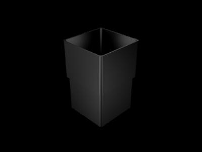 Aluminium Downpipe-Square Losse Connector
