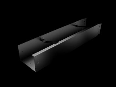 Pressed Aluminium Joggle Joint Box Gutter Length