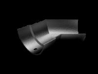 Cast Aluminium Plain Half Round Int 135 Deg Angle
