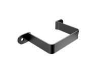 Aluminium Downpipe-Rectangular Flush Fit Pipe Clip
