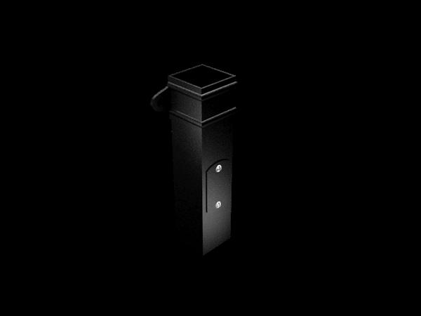 Aluminium Downpipe-Square Cast Eared Access Pipe