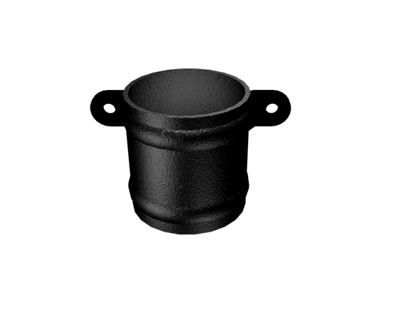 Aluminium Downpipe-Round Cast Eared Collar