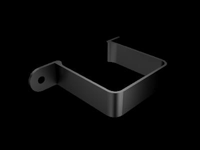 Aluminium Downpipe-Square Flush Fit Pipe Clip