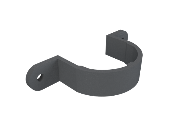 Cast Iron No46 Round Downpipe Earbelt-Primed
