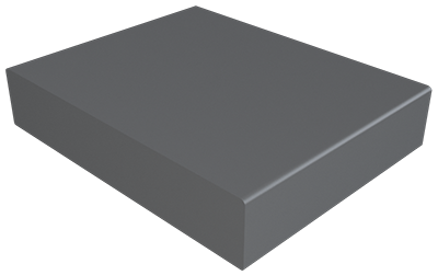 Pressed Aluminium Wall Coping Stopend_1