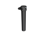 Cast Iron Round Downpipe Length (with ears)-Painted