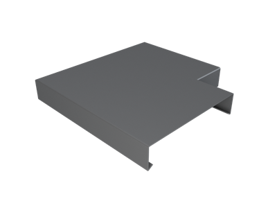 Pressed Aluminium Wall Coping Angle