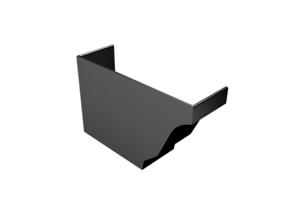Extruded Aluminium Modern Ogee LH Stopend