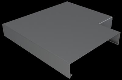 Pressed Aluminium Wall Coping Angle_1