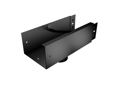 Pressed Aluminium Joggle Joint Box Gutter Outlet