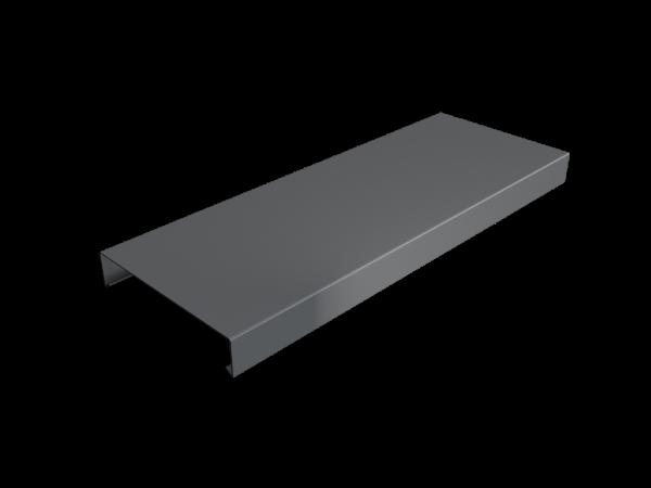 Pressed Aluminium Wall Coping Length
