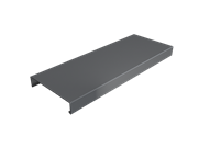 Pressed Aluminium Wall Coping Length