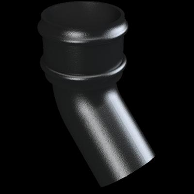 Cast Iron Round Downpipe 135 Deg Bend-Painted- web