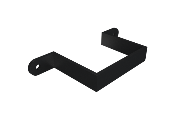 Cast Iron Rectangular Downpipe Earbelt-Painted
