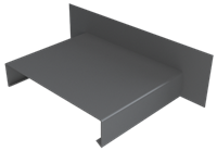 Pressed Aluminium Wall Coping Abutment Stopend_1