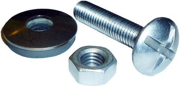 nut bolt & washer