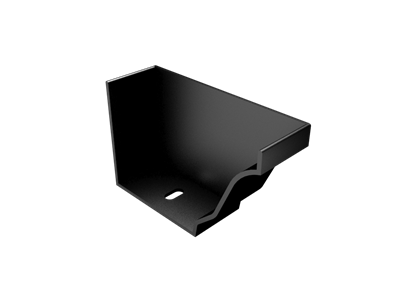 Extruded Aluminium Modern Ogee RH Stopend